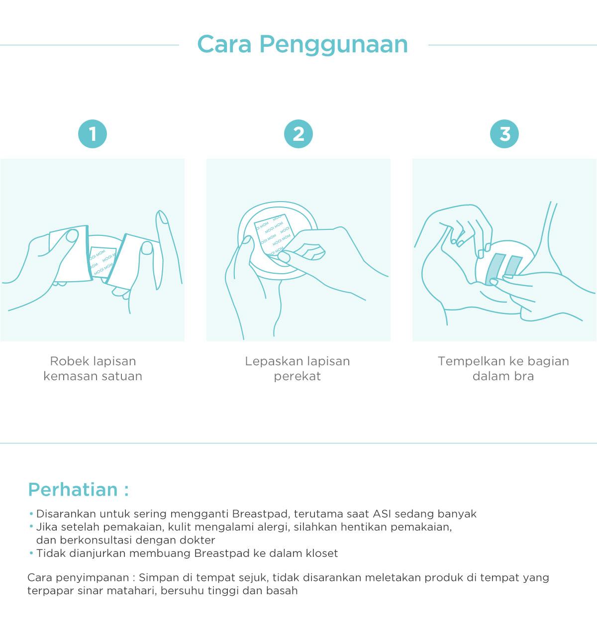 Breast pad murah online MOOIMOM