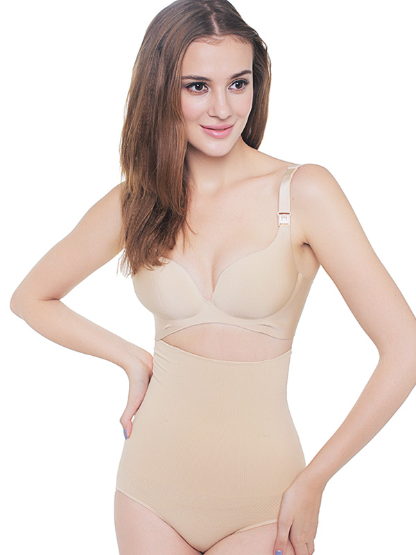 main mobile picture for Seamless High Waist Slimming Briefs / Celana Pelangsing