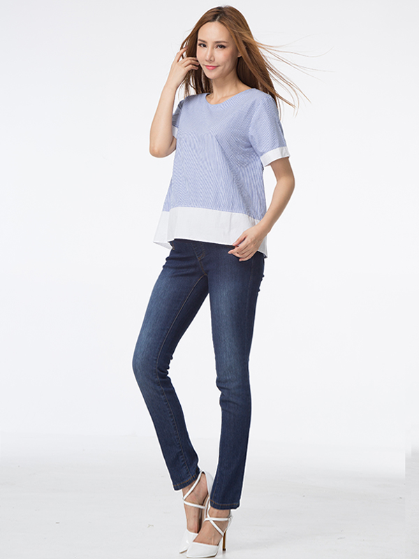 one gallery picture for Super Soft Skinny Maternity Jeans Celana Jeans Hamil