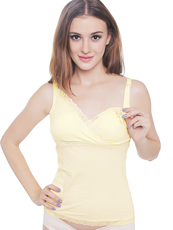 one gallery picture for Super Soft Crossover Maternity & Nursing Bra Top Tank Top Bra Ibu Hamil Menyusui
