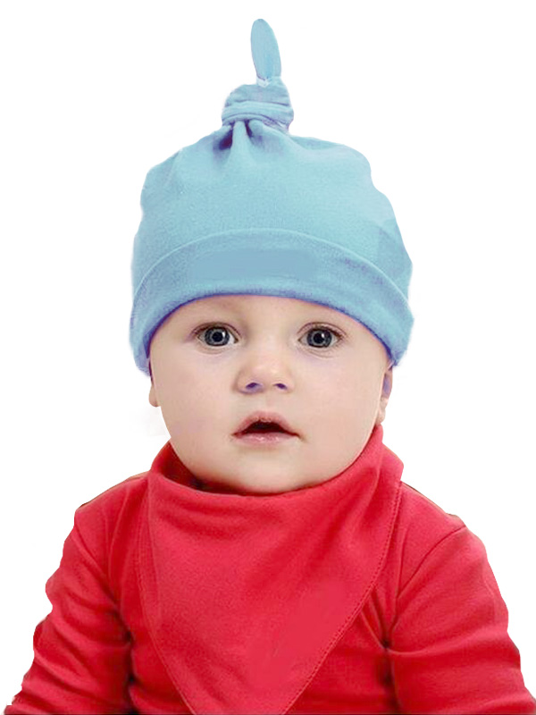 one gallery picture for Newborn Cotton Knot Hat - Topi Bayi