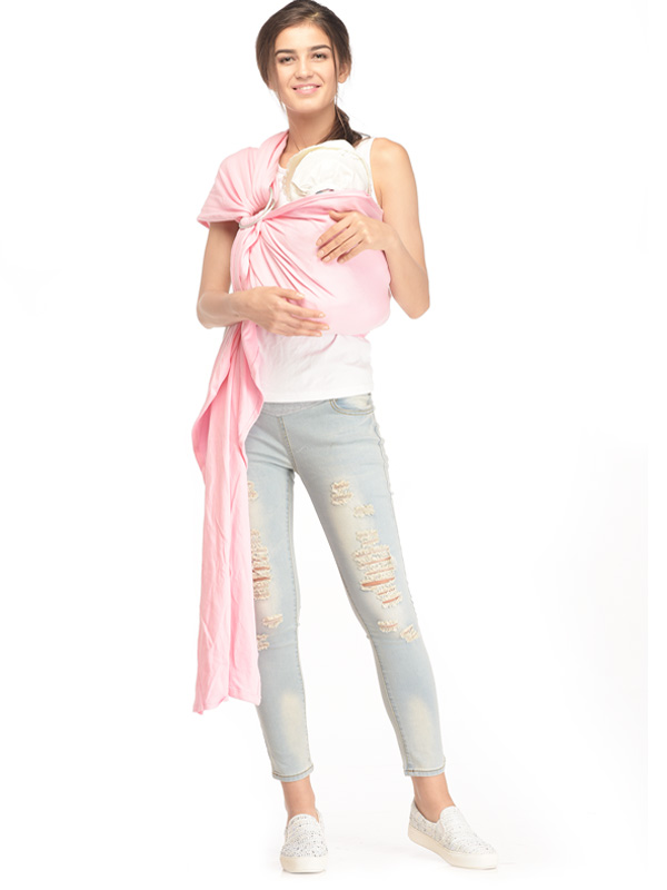 one gallery picture for Pink Lady Baby Sling Gendongan Bayi