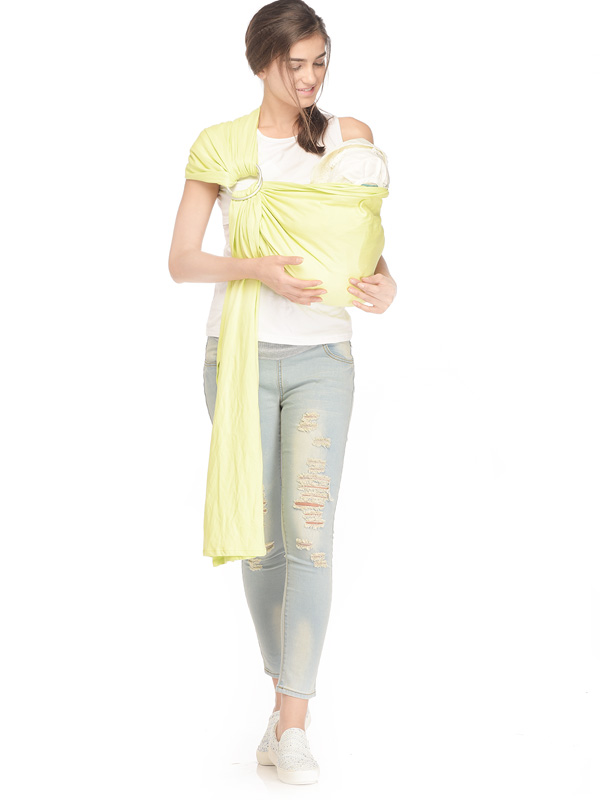 one gallery picture for Green Fairy Baby Sling Gendongan Bayi