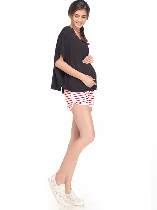one gallery picture for Casual Maternity Shorts Celana Pendek Ibu Hamil