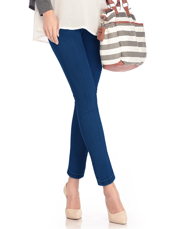one gallery picture for Skinny Look Maternity Jeans Celana Jeans Hamil