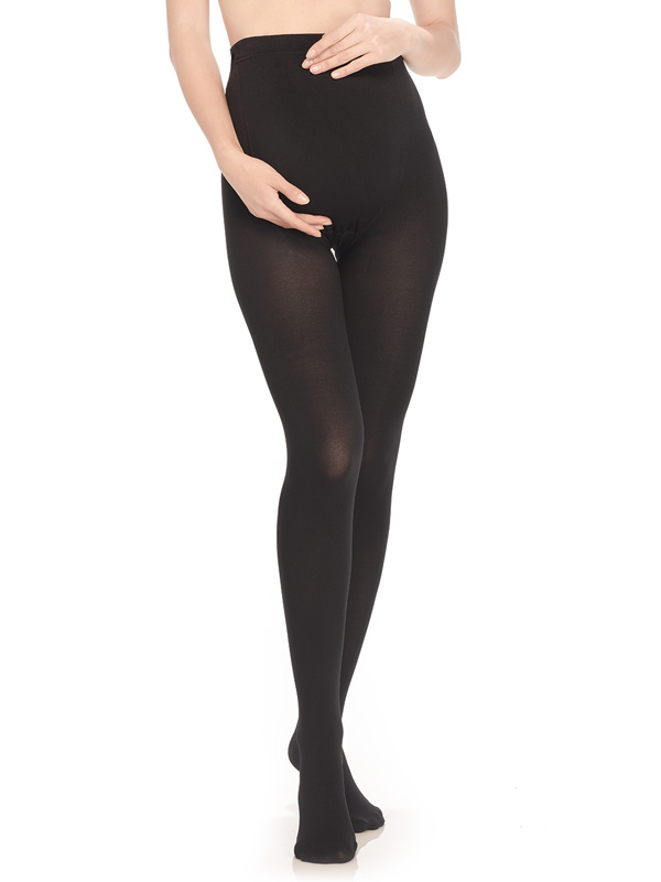 one gallery picture for Opaque Maternity Tights 320 Denier Stocking for Pregnant Women