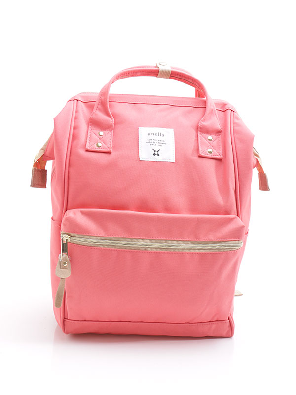 one gallery picture for anello® Rucks With Mouthpiece Tas Ransel-Coral Pink
