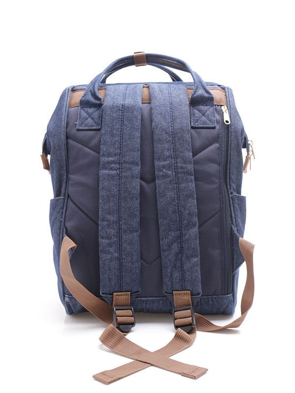 one gallery picture for anello® Rucks Mini Backpack - Denim Navy