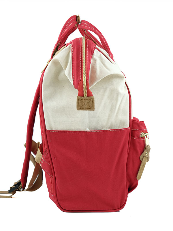 one gallery picture for anello® Rucks With Mouthpiece Tas Ransel - Canvas Red
