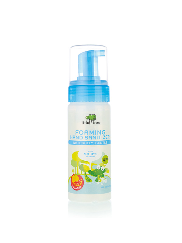 one gallery picture for Little Tree Foaming Hand Sanitizer Antiseptic Pembersih Tangan Bayi (150ml)
