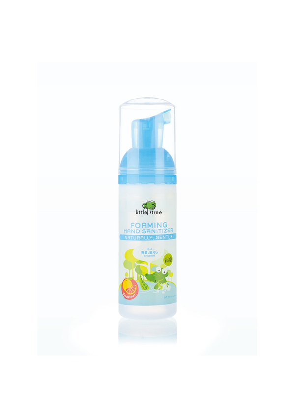 one gallery picture for Little Tree Foaming Hand Sanitizer Antiseptic Pembersih Tangan Bayi (50ml)