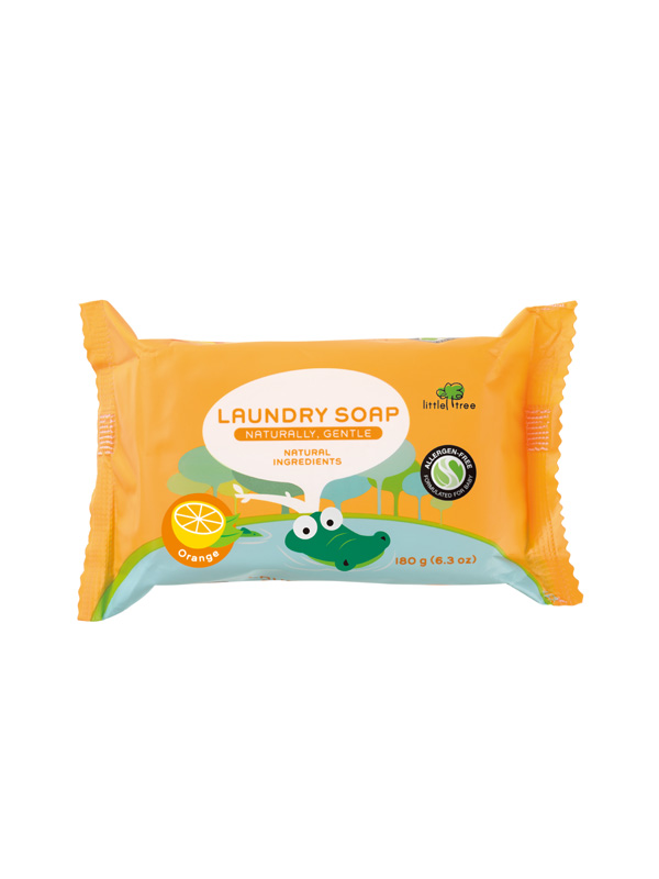 one gallery picture for Little Tree Baby Laundry Soap Sabun Cuci Batang Baju Bayi (Orange)