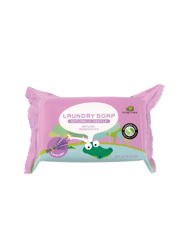 one gallery picture for Little Tree Baby Laundry Soap Sabun Cuci Batang Baju Bayi (Lavender)