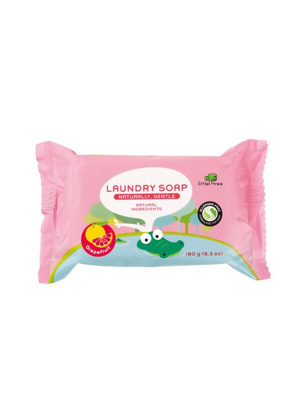 Little Tree Baby Laundry Soap Sabun Cuci Batang Baju Bayi (Grape Fruit)