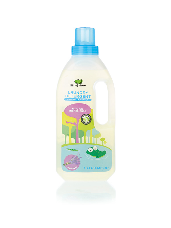 one gallery picture for Little Tree Baby Laundry Detergent (Lavender, 1050ml)