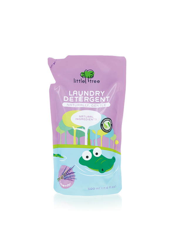 gallery picture of Little Tree Baby Laundry Liquid Sabun Detergent Bayi - Lavender (REFILL PACK)