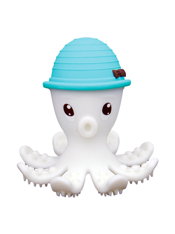 one gallery picture for [MOMBELLA] Octopus Teether Toy Doo Mainan Gigitan Bayi