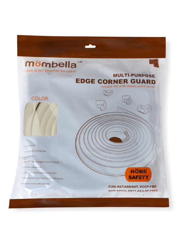 one gallery picture for Mombella Safety Edge Corner Cushion Guard Pengaman Tepi & Sudut Meja - Ivory