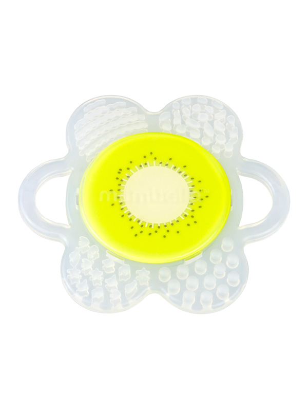 one gallery picture for Mombella Flower Fruit Teether Mainan Gigitan Bayi - Kiwi