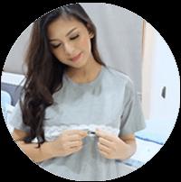 Baju Menyusui Mooimom Memang Paling Praktis