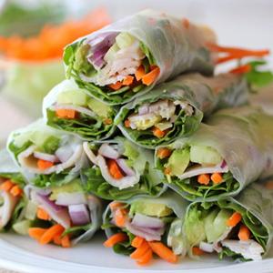 Avocado Spring Roll, Saatnya Ngemil Sehat!
