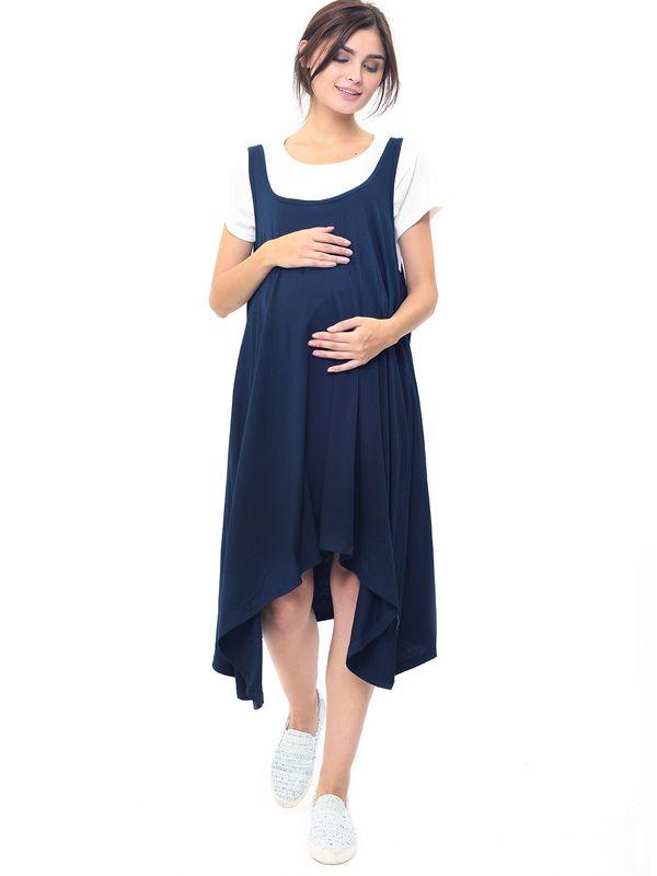 one gallery picture for 2 Piece Swing Nursing Dress Baju Ibu Hamil & Menyusui