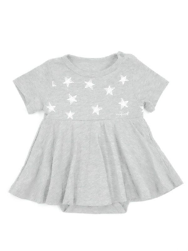 one gallery picture for MOOIMOM Starry Sky Nursing Dress + Baby Clothes Baju Hamil Menyusui Couple Ibu Anak