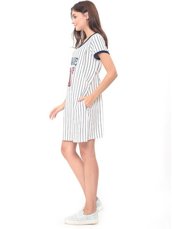 one gallery picture for Baseball Nursing Dress + Baby Clothes Baju Hamil Menyusui Couple Ibu Anak