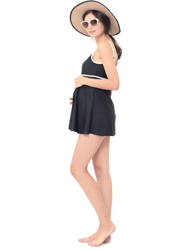 one gallery picture for 優雅修飾連身孕婦泳裝