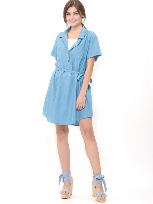 main mobile picture for Denim Nursing Dress Baju Hamil Menyusui