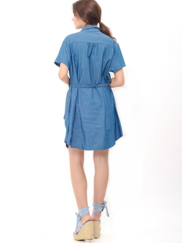 one gallery picture for Denim Nursing Dress Baju Hamil Menyusui