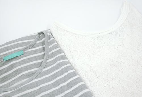 Loose Style & 2 Pieces Design