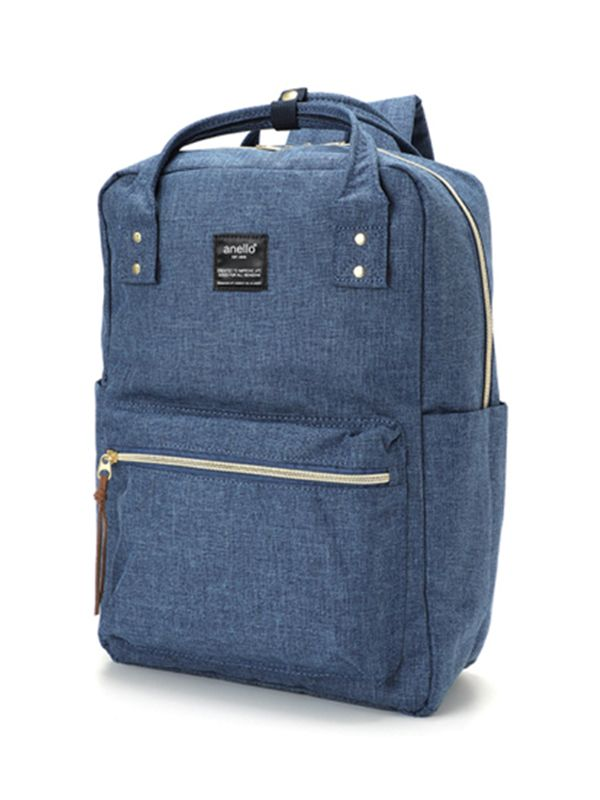 one gallery picture for anello® Square Backpack Tas Ransel - Denim Blue