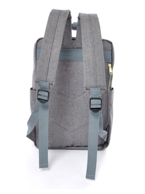 one gallery picture for anello® Square Backpack Tas Ransel - Denim Grey