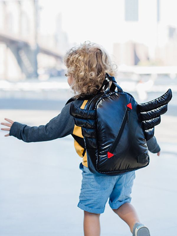 one gallery picture for 7 A.M. Mini Wings Backpack Tas Ransel Anak - Black