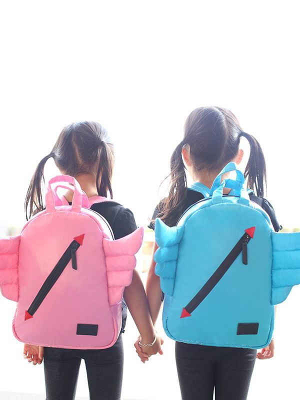one gallery picture for 7 A.M. Mini Wings Backpack Tas Ransel Anak - Watermelon