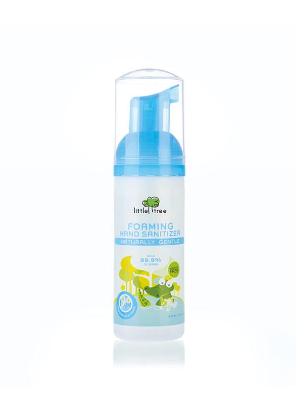 Beli lotion cuci tangan bayi / hand sanitizer Little Tree yang terbuat dari bahan alami dengan harga termurah hanya di MOOIMOM.