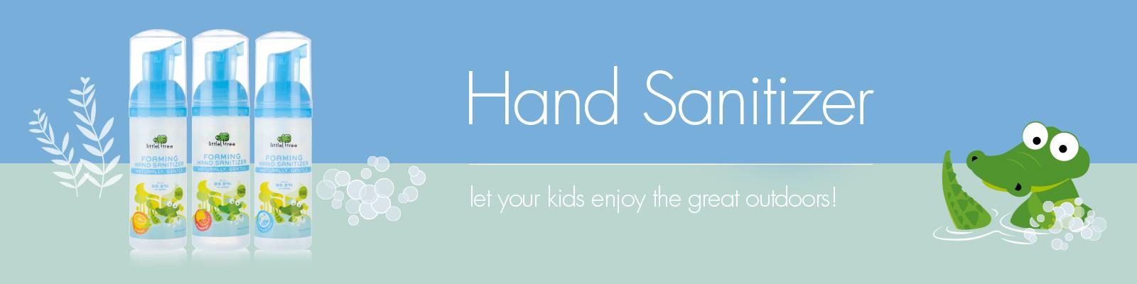 Desktop Banner for Beli Lotion Cuci Tangan Bayi / Hand Sanitizer Little Tree Termurah