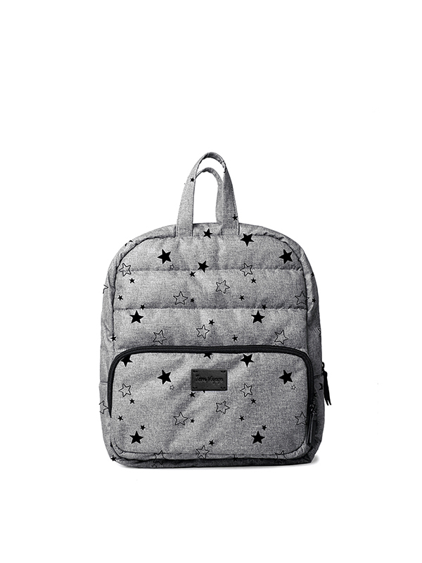 one gallery picture for 7 A.M. Mini Backpack Tas Ransel Anak - Heather Grey Stars
