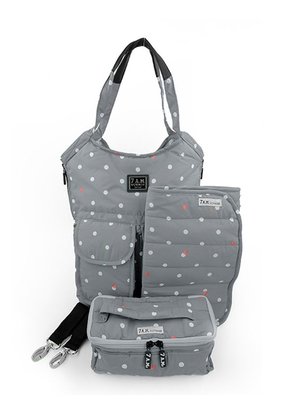 one gallery picture for 7 A.M. Barcelona Bag Tas Popok Bayi - Polkadot
