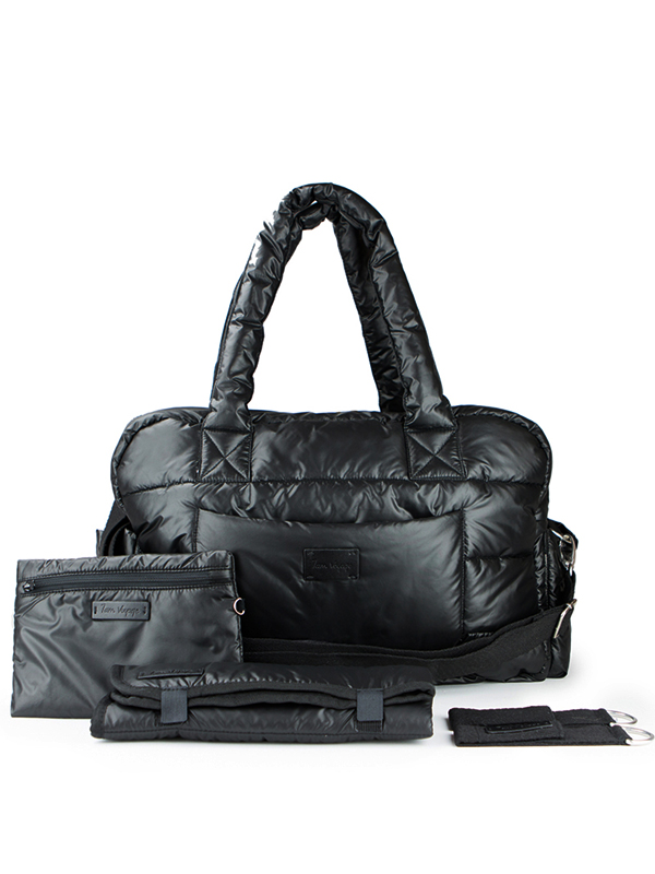 one gallery picture for 7 A.M. Soho Bag Diaper Bag Tas Popok Bayi - Black