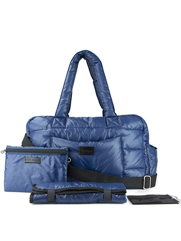 one gallery picture for 7 A.M. Soho Bag Diaper Bag Tas Popok Bayi - Navy
