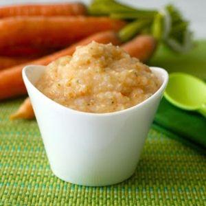 Resep MPASI : Nasi Tim dan Hati Ayam & Sayuran