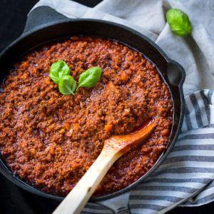 Resep Mpasi : Beef Bolognise (Untuk 10 bulan ke atas)