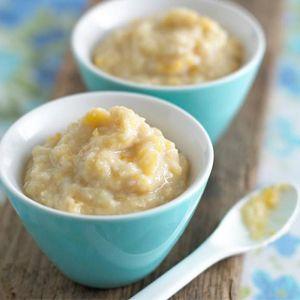 Resep Mpasi : Bubur kentang telur keju (9 bulan ke atas)