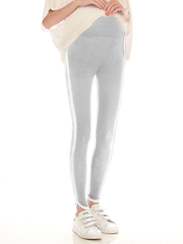one gallery picture for Side Stripe Leggings Celana Ibu Hamil