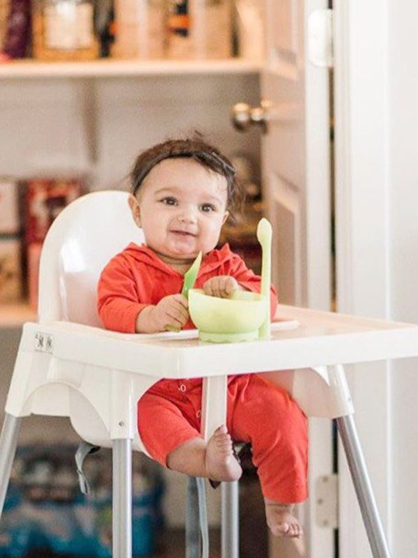 one gallery picture for [OLA BABY] Feeding Spoon + Training Spoon(2PK) Sendok Makan Bayi