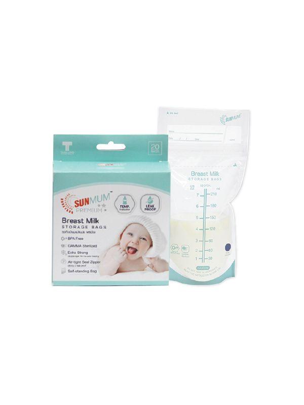 one gallery picture for Sunmum Premium Breastmilk Storage Bags Kantong ASI  (20 Bag)