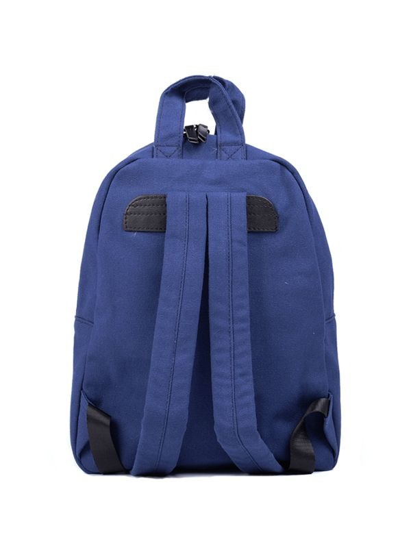one gallery picture for 7 A.M. Mini Dino Cotton Backpack Tas Ransel Anak - Navy