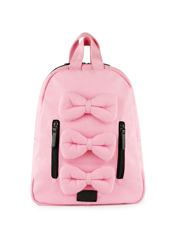 one gallery picture for 7 A.M. Mini Bows Cotton Backpack Tas Ransel Anak - Balet